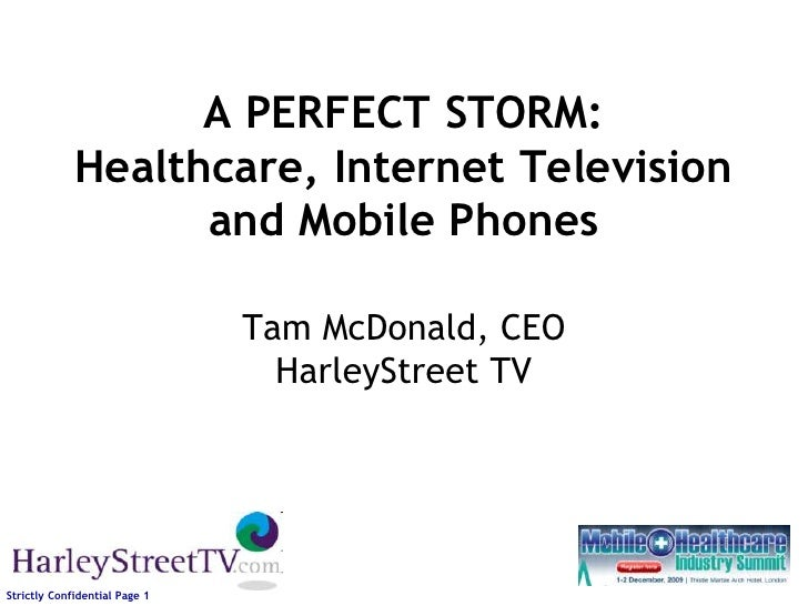 Announcement Of Harley Street TV 3G Doctor Joint Venture
