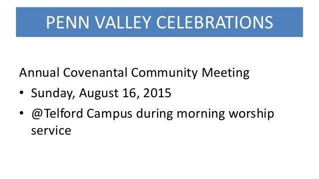 Penn Valley Church Announcements 8 2-15