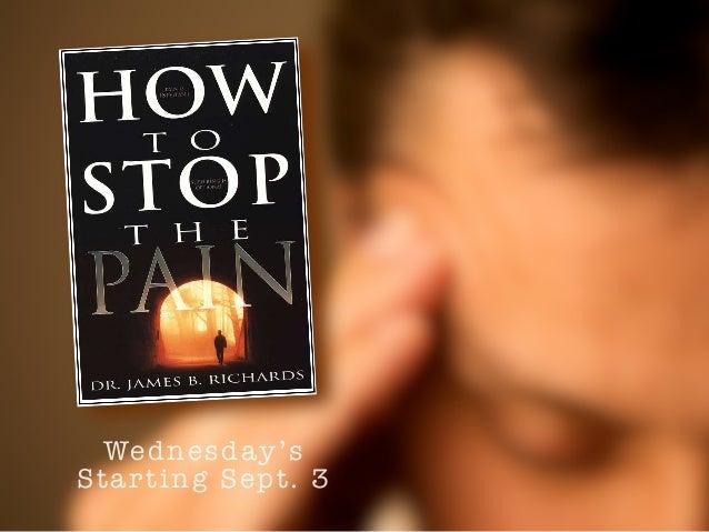 Wednesday's  Starting Sept. 3