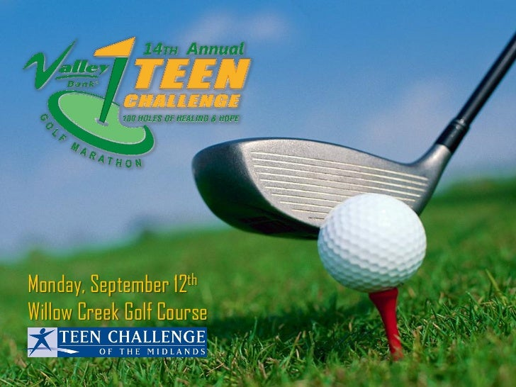 Monday, September 12thWillow Creek Golf Course