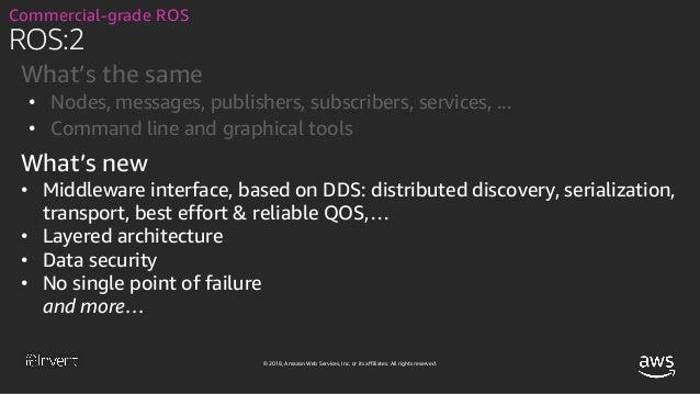 Announcing AWS RoboMaker: A New Cloud Robotics Service