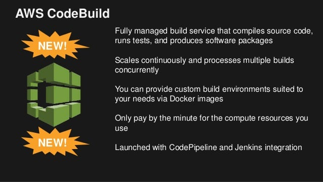 Announcing AWS CodeBuild - January 2017 Online Teck Talks