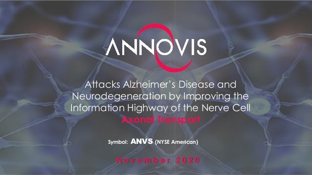 Attacks Alzheimer's Disease and Neurodegeneration by Improving the Information Highway of the Nerve Cell Axonal Transport ...