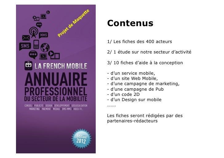 Annuaire lafrenchmobile 2011 2012 Slide 3
