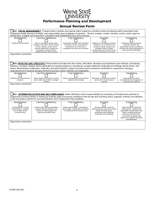 Doc693951 Annual Appraisal Form Appraisal Forms Template – Annual Appraisal Form