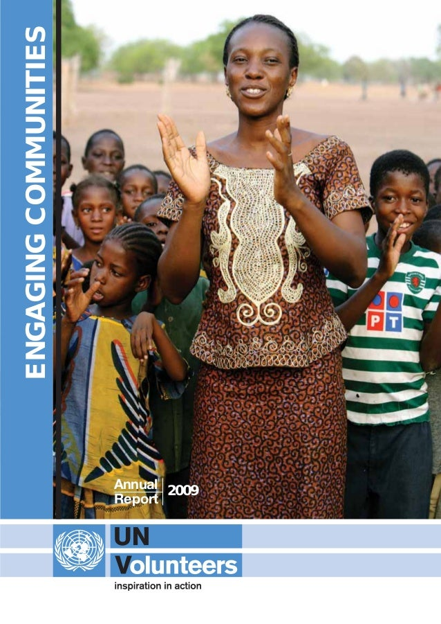 ENGAGINGCOMMUNITIES 2009Annual Report UNV Annual Report 2009 aw [f]:Layout 1 21/6/10 09:22 Page 41