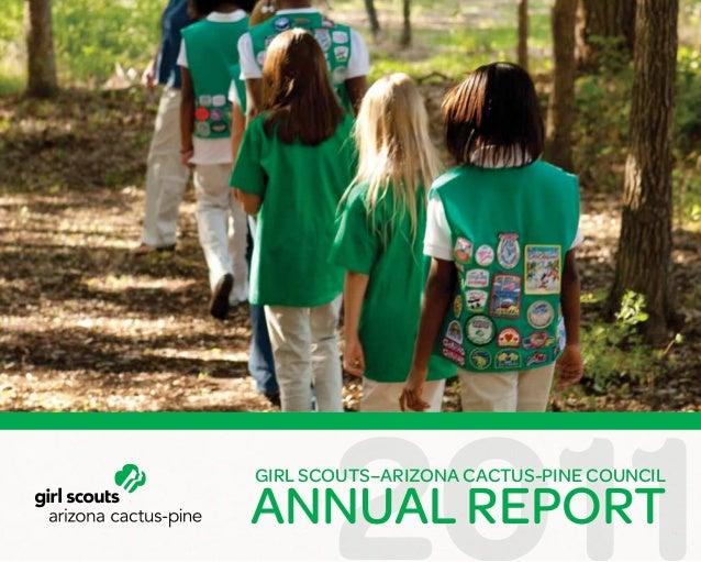 annual report 2011 girl scouts arizona cactus pine council