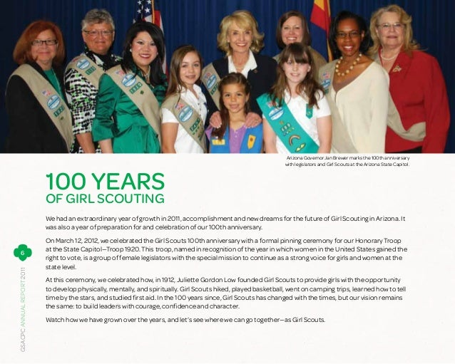 Annual Report 2011 | Girl Scouts–Arizona Cactus-Pine Council