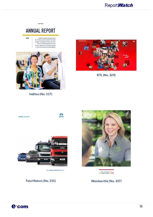 Annual report on annual reports 2016 for General motors annual report 2016