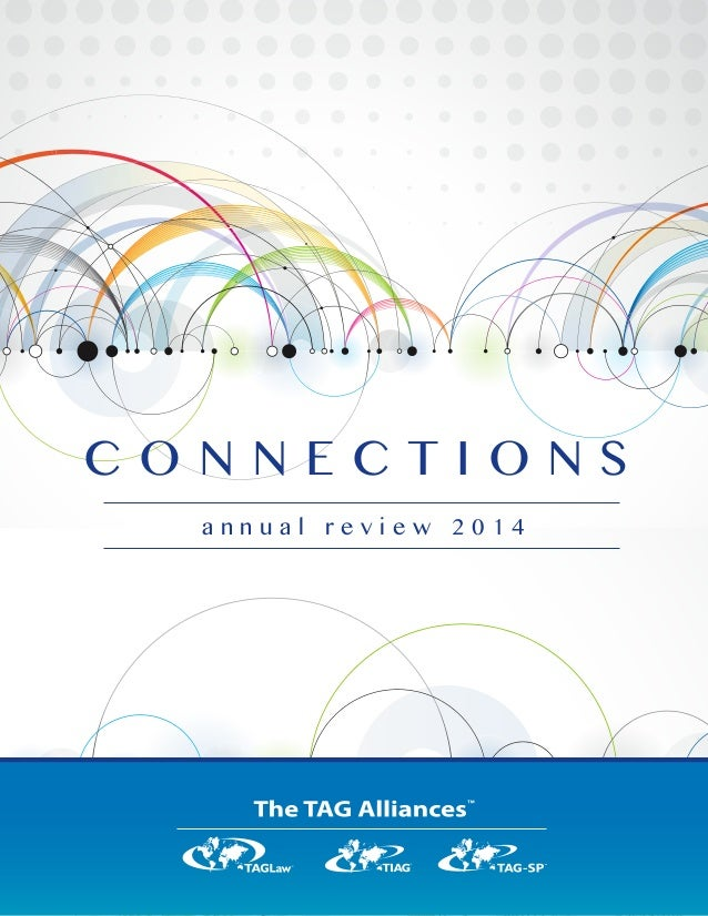 Tag Allianes Annual Review 2014 Connections