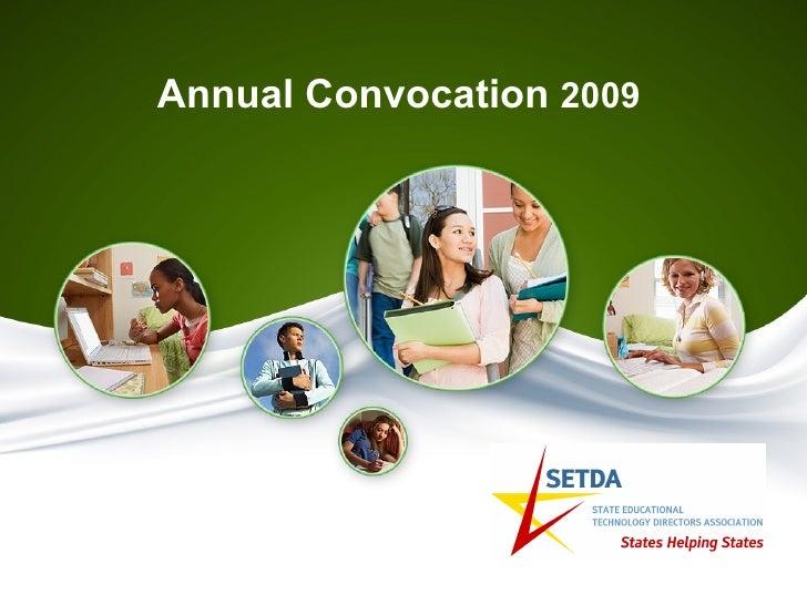Annual Convocation  2009