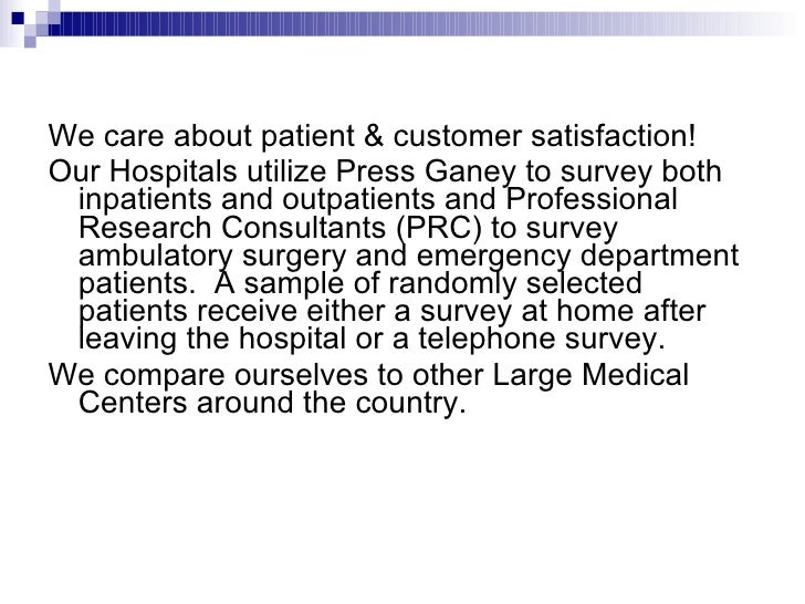 emergency department patient satisfaction customer service An emergency department  as comprehensive emergency medical service and  that may lead to increased wait times and reduced patient satisfaction.