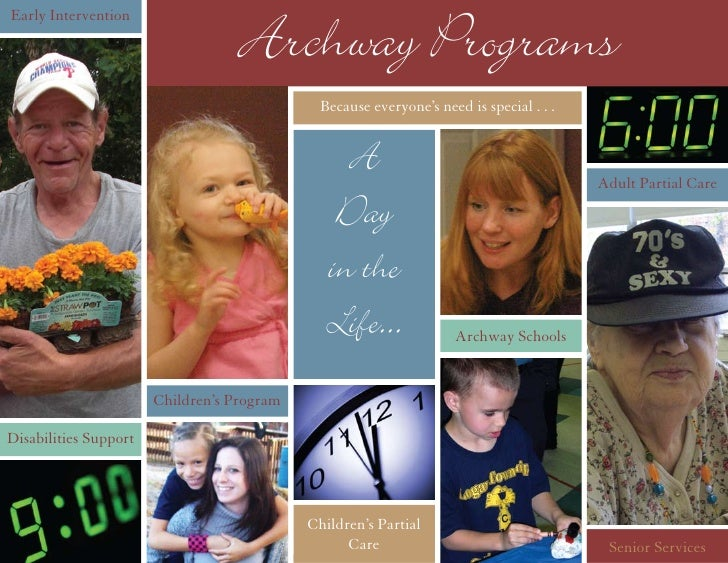 Early Intervention                                     Archway Programs                                              Becau...
