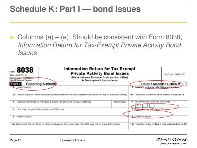 Tax Exempt Bonds