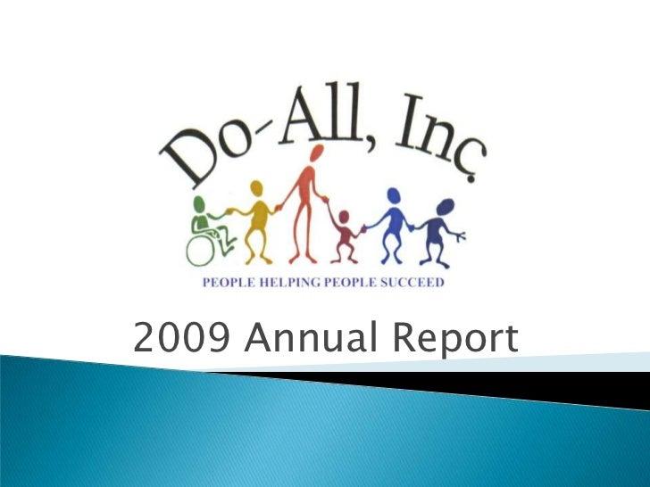 2009 Annual Report<br />