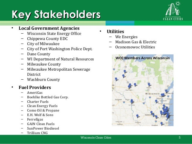 Wisconsin Clean Cities Annual Stakeholder Meeting Presentation
