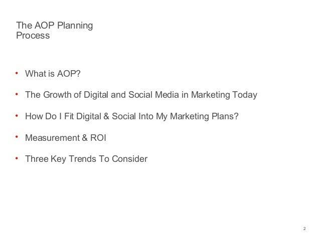 The Annual Planning Process & Social/Digital Media Slide 2