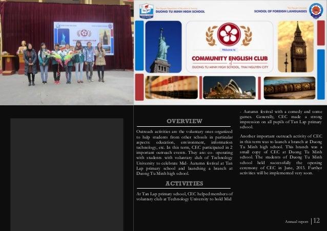CEC Annual Report 2012