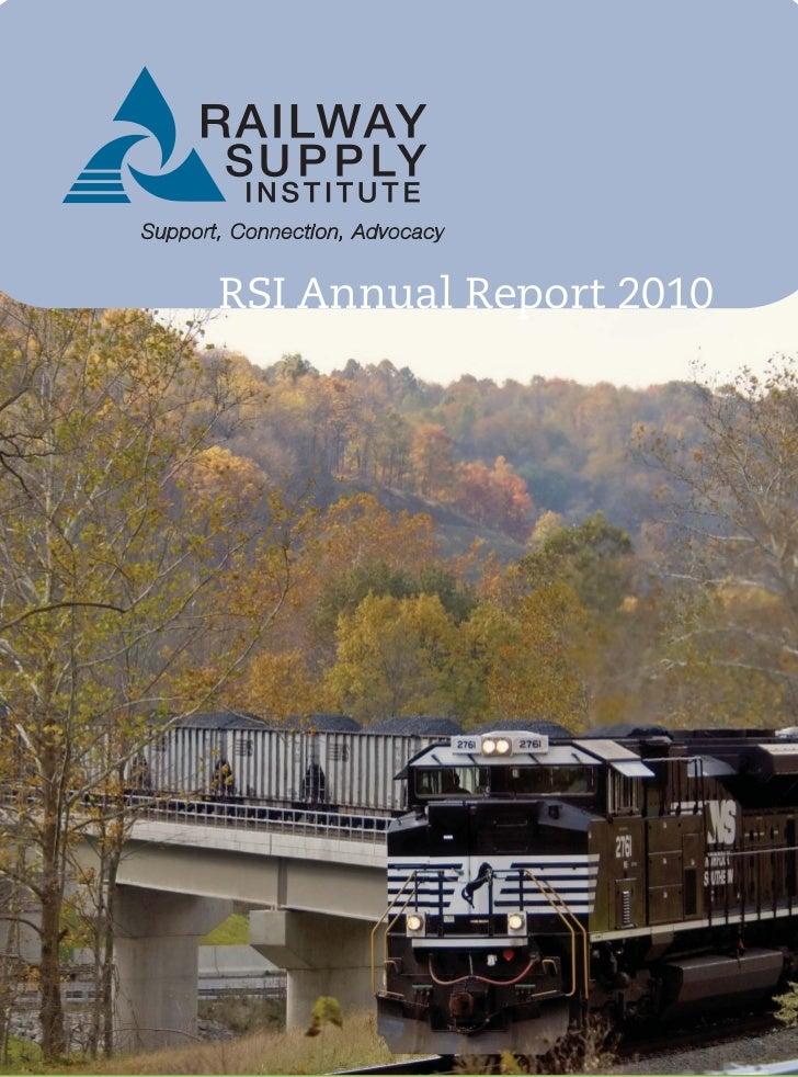 RSI Annual Report 2010