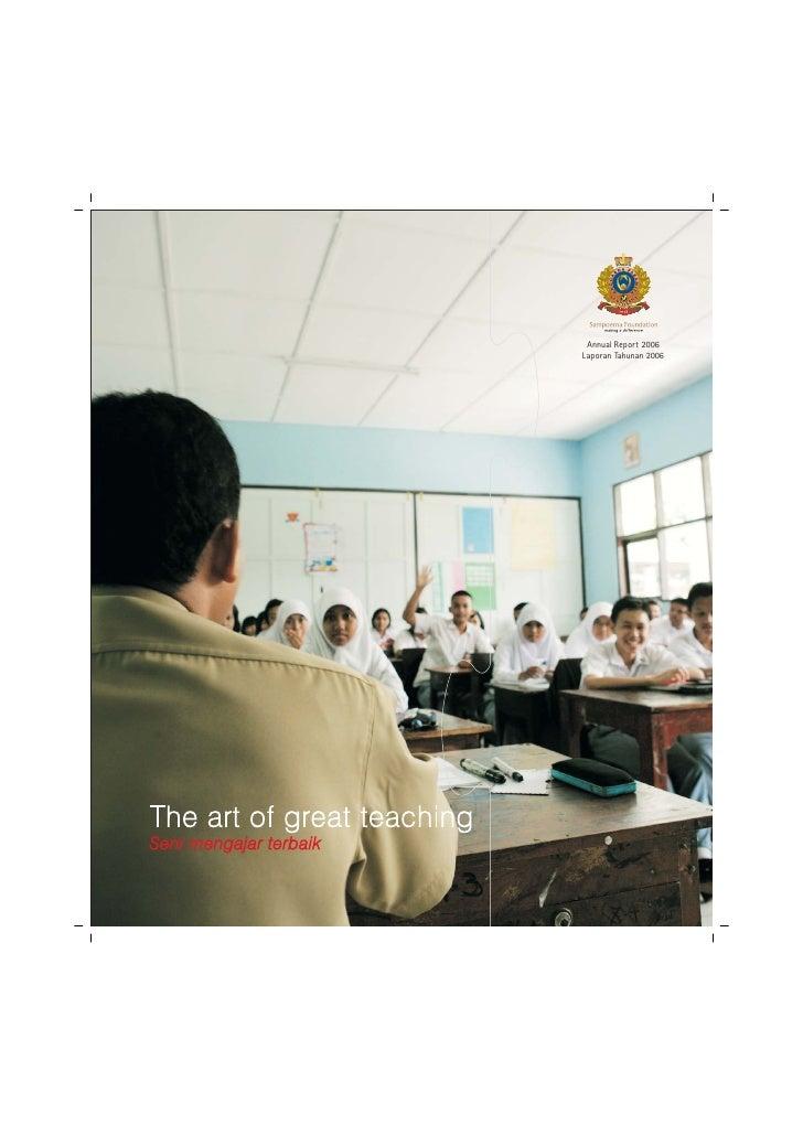 Annual Report 2006Laporan Tahunan 2006
