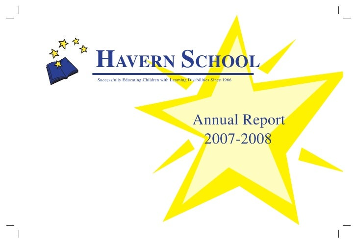 HAVERN SCHOOL Successfully Educating Children with Learning Disabilities Since 1966                                       ...