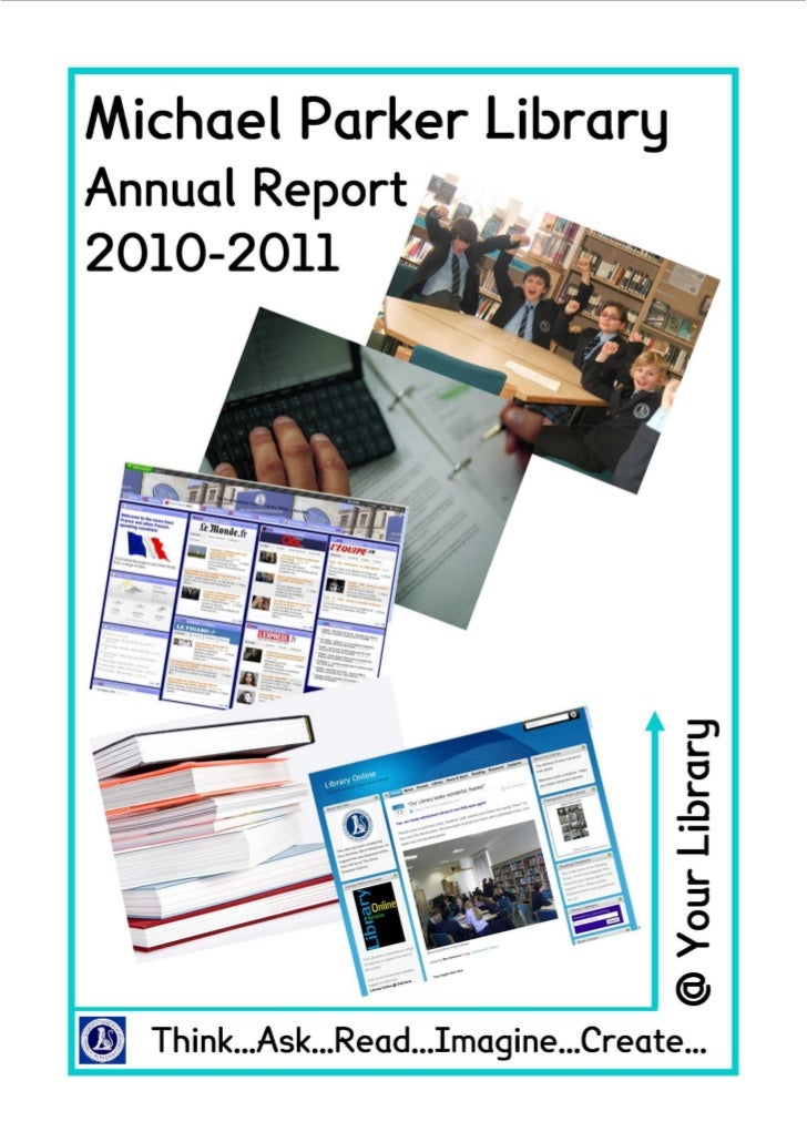 The Dixie Grammar School                                               Library Services Annual Report 2010-2011           ...