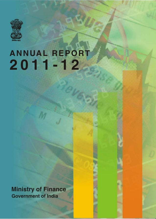 Annual Report                      2006-07Ministry of FinanceGovernment of IndiaNew Delhi                      Government ...
