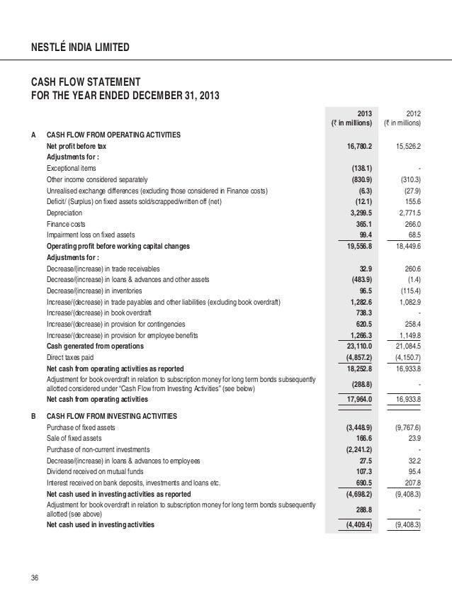 Asset Disposal and Statement of Cash Flows - unf.edu