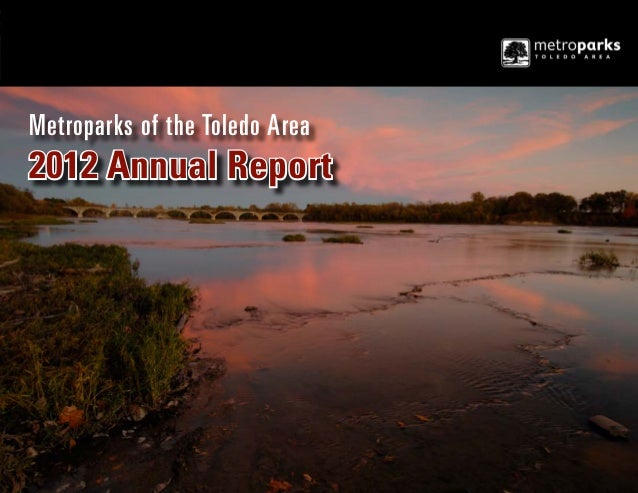 Metroparks of the Toledo Area  2012 Annual Report