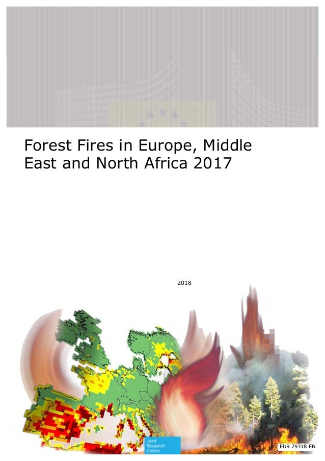 Forest Fires in Europe, Middle East and North Africa 2017 2018 EUR 29318 EN