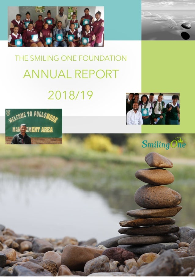 THE SMILING ONE FOUNDATION ANNUAL REPORT 2018/19