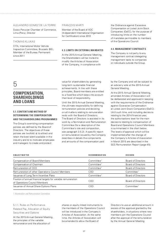 SGS 2014 Annual Report