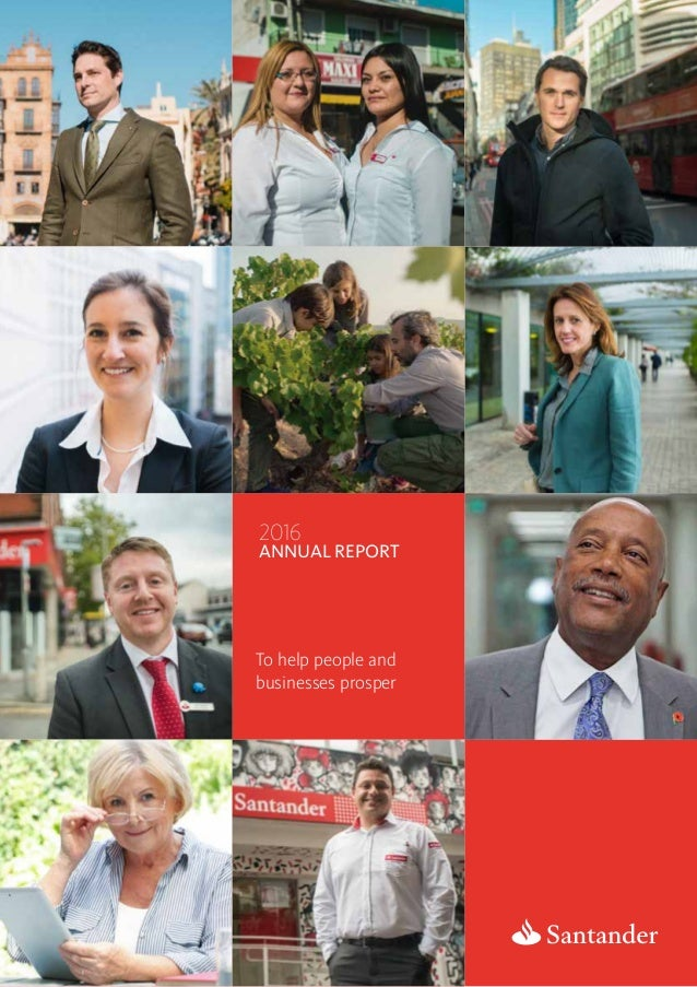 31.01.2017 2016 annual Report To help people and businesses prosper