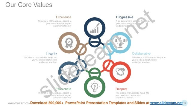 Respect This slide is 100% editable. Adapt it to your needs and capture your audience's attention. Collaborative This slid...