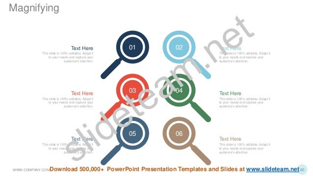 06 04 02 05 03 01 Text Here This slide is 100% editable. Adapt it to your needs and capture your audience's attention. Tex...