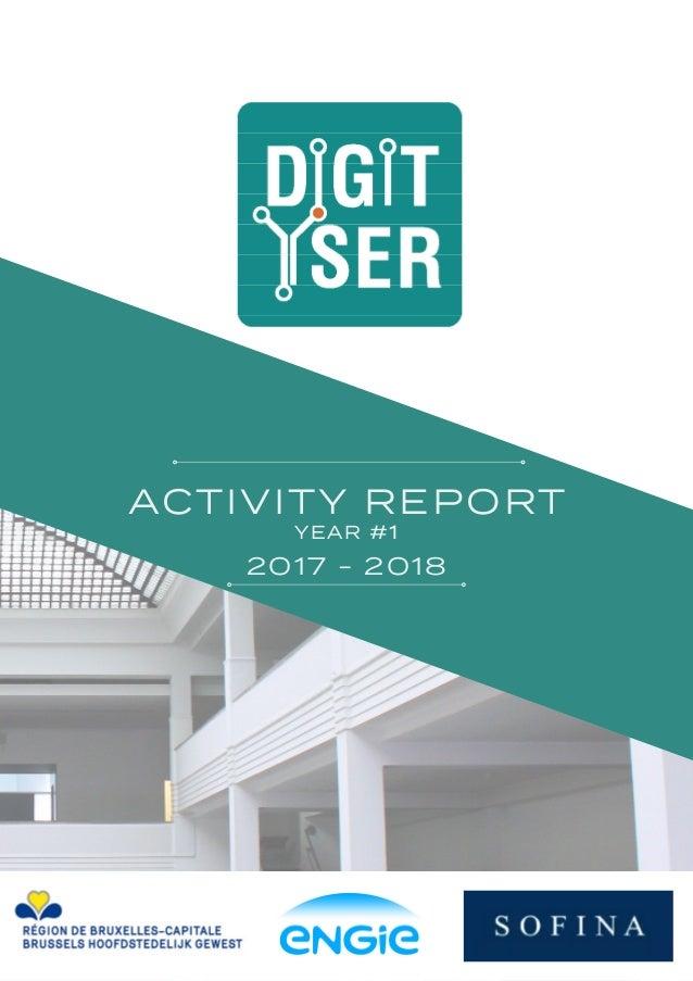 ACTIVITY REPORT YEAR #1 2017 - 2018