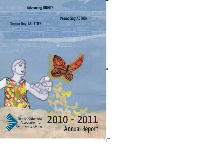 Advancing RIGHTS                             Promoting ACTIONSupporting ABILITIES                       2010 - 2011       ...