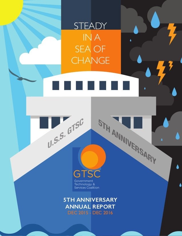 GTSC 5th Anniversary Annual Report: Steady in a Sea of Change