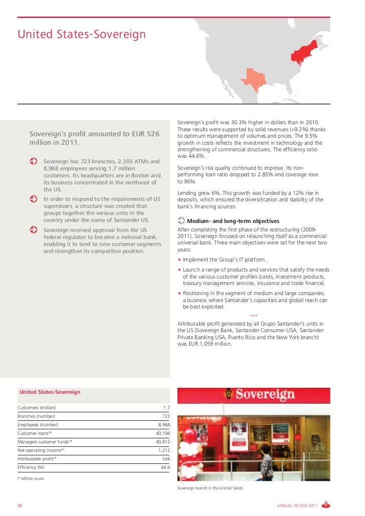 Santander Bank  Annual Report 2011 Annual review 2011
