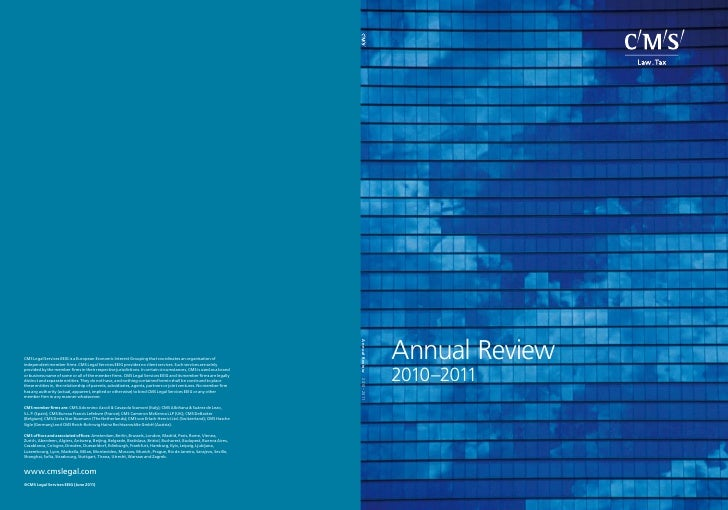 Annual Review2010–2011