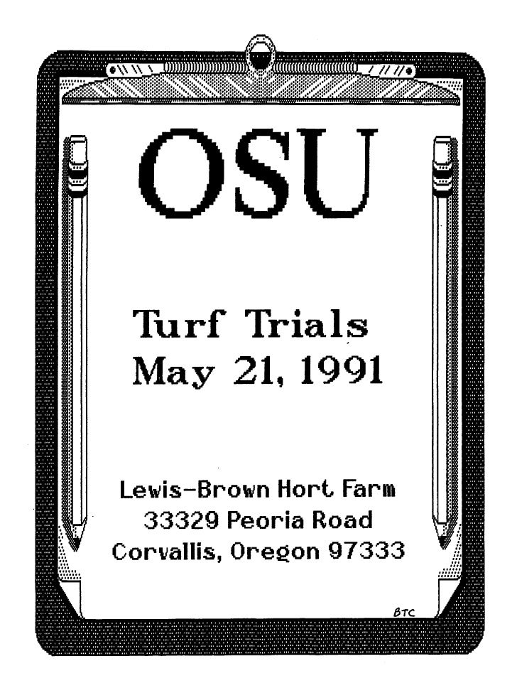 1991 Annual Student Field Day