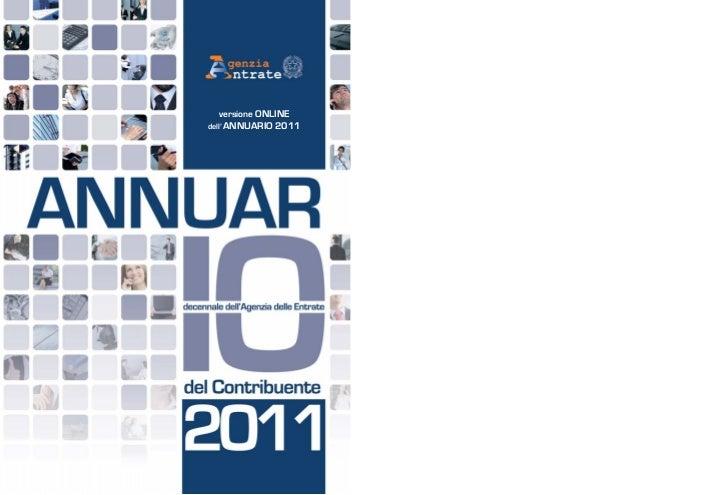versione ONLINEdell' ANNUARIO   2011