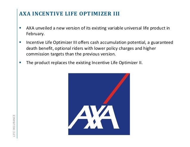 Annuity and Life Insurance Product Update - Q1 2016