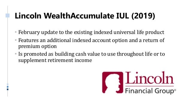 Annuity and life insurance product update q1 2019