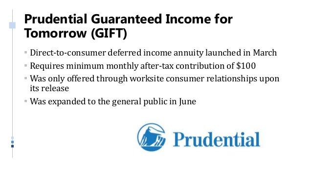 Annuity and Life Insurance Product Update - Q2 2018