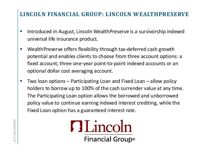 Annuity and Life Insurance Product Update - Q3 2014