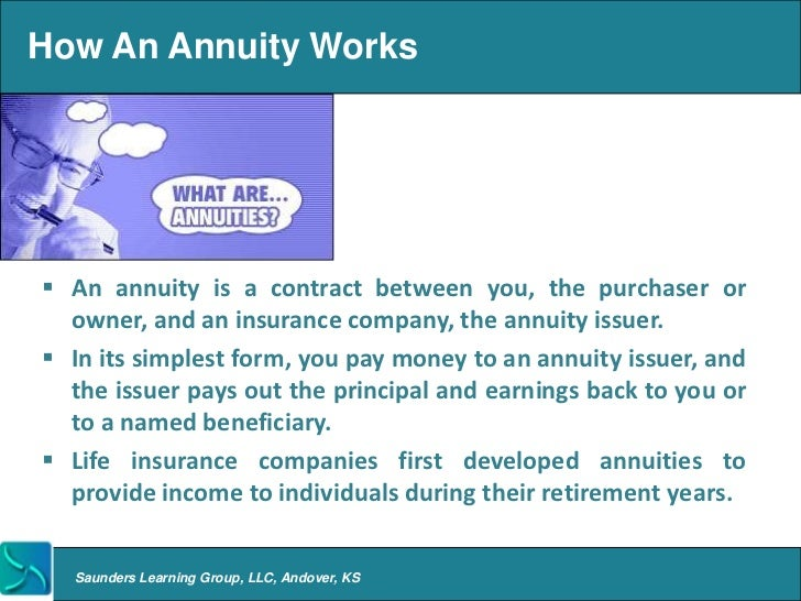 How Does an Annuity Work? - Good Financial Cents