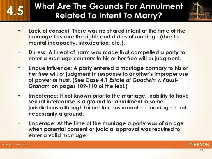 Catholic annulment grounds
