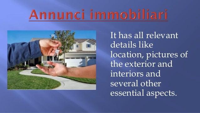 Annunci immobiliari for Annunci immobiliari