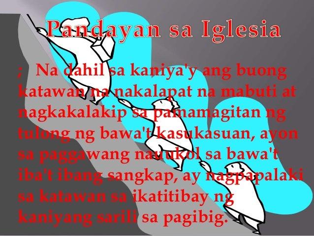 ; Na dahil sa kaniya'y ang buong katawan na nakalapat na mabuti at nagkakalakip sa pamamagitan ng tulong ng bawa't kasukas...